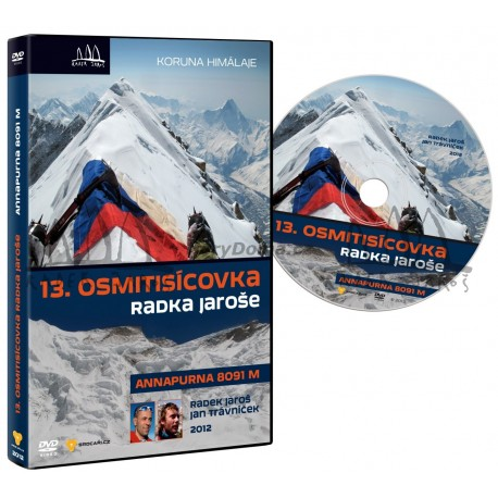 DVD Expedice Annapurna 2012 Radek Jaroš